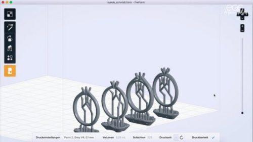 3D printing wedding rings