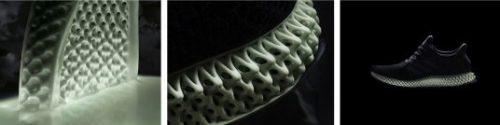 Adidas 3D printed footwear
