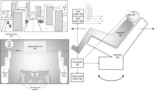 Apple AR-VR patent for autonomous vehicles
