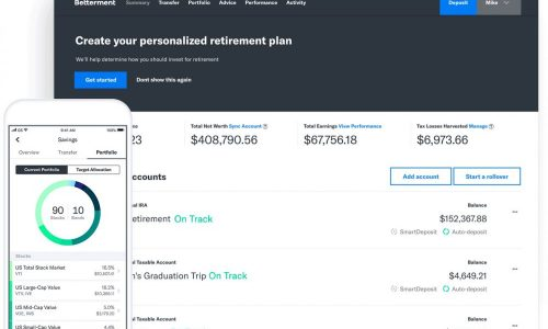 Betterment - Financial robo-advisor