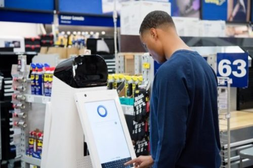 LoweBot in-store customer service