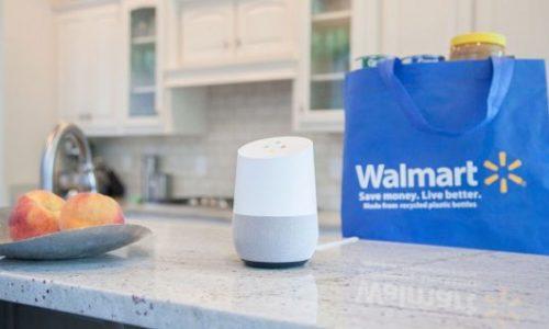 Walmart voice shopping