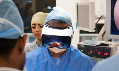 Virtual reality for medical training and surgery