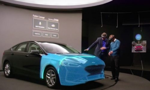 Ford partnership with Microsoft's HoloLens to design cars in augmented reality
