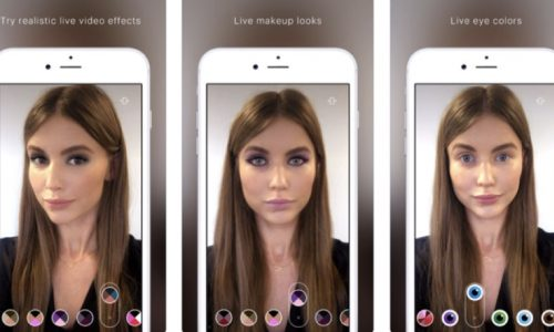 ModiFace AR beauty app