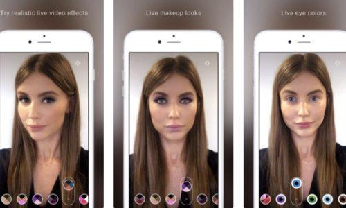 ModiFace AR beauty app